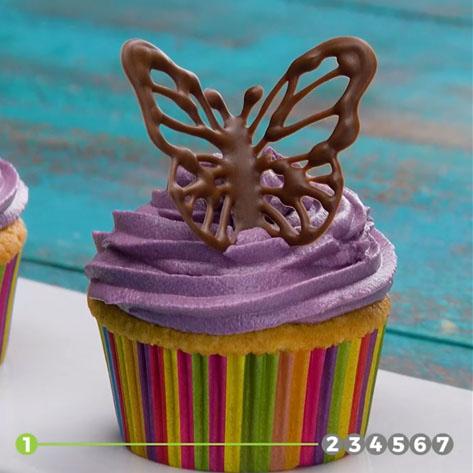 7 مدل تزیین کیک با شکلات