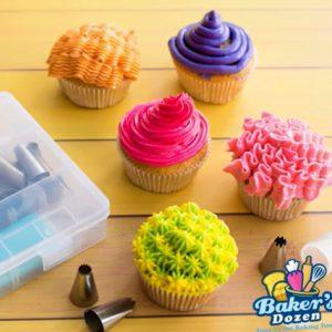 چند مدل آموزش تزیین کیک با ماسوره و قیف