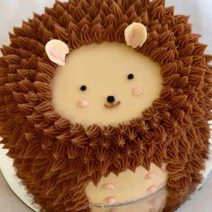 ایده تزیین کیک بصورت جوجه تیغی